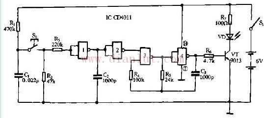 红外遥控的发射机电路