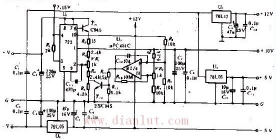 电源电路和放大电路