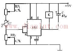 基于555定时器的温度传感器控温电路