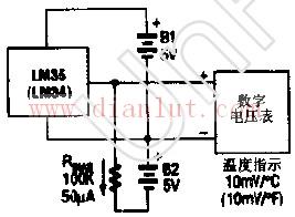 低温传感器电路原理图