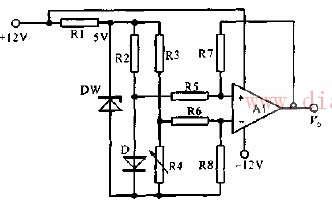 简易0-100度温度测量电路图解