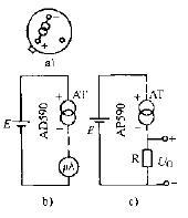 AD590温控传感器电路