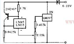 温度变送器电路图