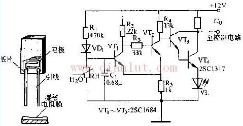 电阻型揭露传感器的应用电路