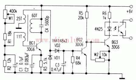 【图】金属接近开关电路图解传感器电路