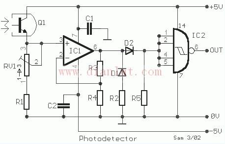 光检测器的工作原理