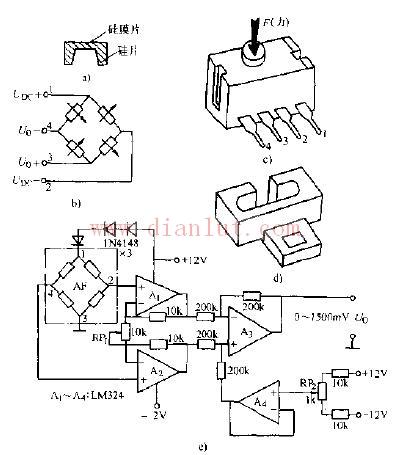 FSFG--15NLA力敏传感器
