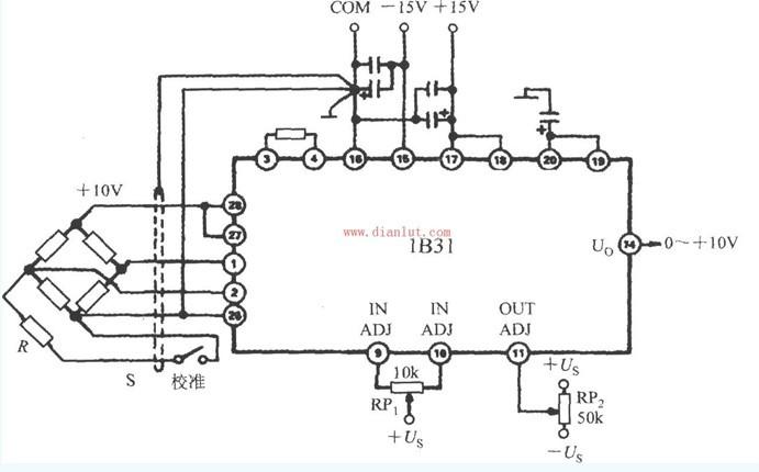 压力变送器接口基于B31设计