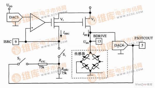 【图】max1458的电桥激励电路传感器电路
