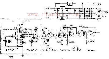 TGS作检测器的FT-IR用光信号检测电路图解