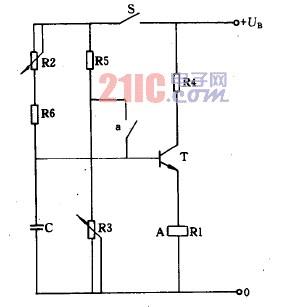 【图】延迟吸合及释放的继电器电路原理图控制电路 图
