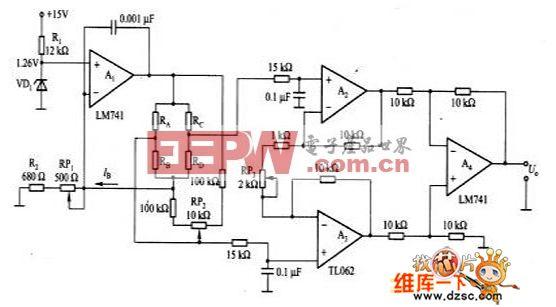桥式传感器的驱动电路