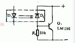 用于驱动1A晶体管的光电隔离电路