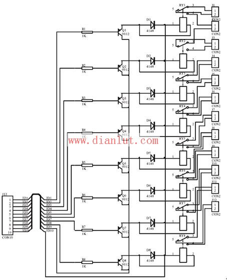 常见典型的光隔离继电器驱动电路