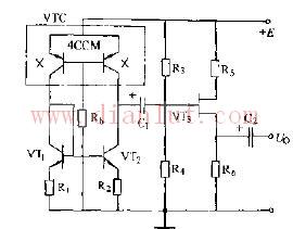 基于4CCM的场效应晶体管源极输出电路图
