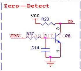 空调过零检测电路图解