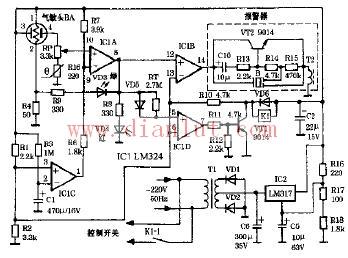 D型自动抽油烟机电路原理图其它电路图 电路图 捷配电子市场网