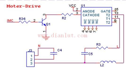【图】关于空调的室内风机控制电路其它电路图