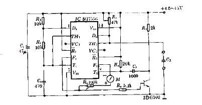 基于5G7556的新型简易小电容检测器电路