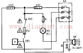 介绍裕华NSD2-15 NSD2-20对衡式电暖器电路
