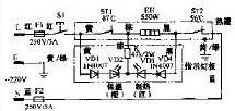 顺康RYH-5型的温热饮水机电路
