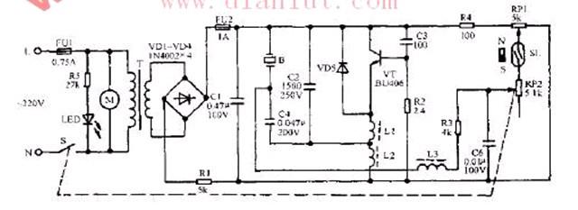 新飞加湿器电路图; 加湿器电源电路图_加湿器电路图_美的加湿器电路