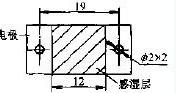 MS04型湿敏元件外型尺寸