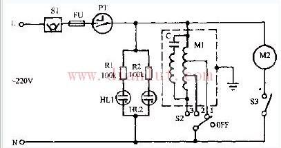 鸿运牌KYT3-30型转页扇电路