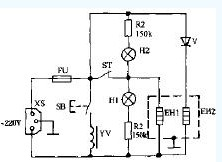 万宝DQP-22A电热水瓶电路设计