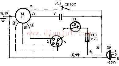 【图】星华fb-40壁扇电路原理图其它电路图