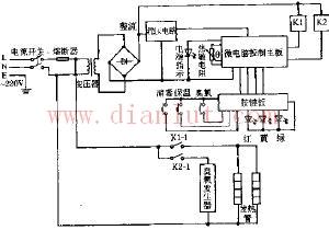 万和ZTD-88双功能电脑式消毒柜电路原理图