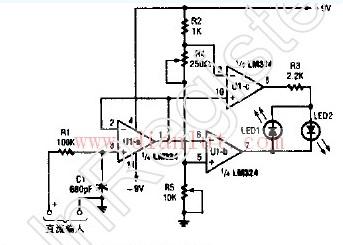 电压检测器原理图