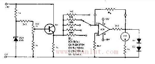 【图】欧姆表内部的电路图其它电路图