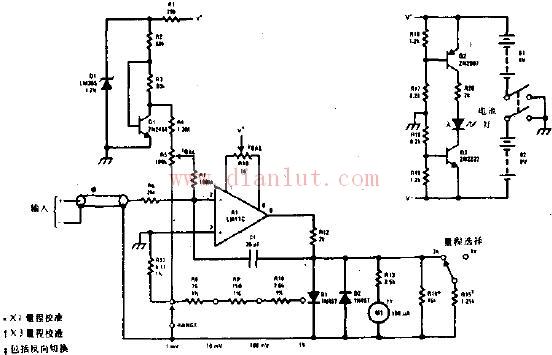 例如电视机和收音机的天线输入的电压,中放级的电压等.