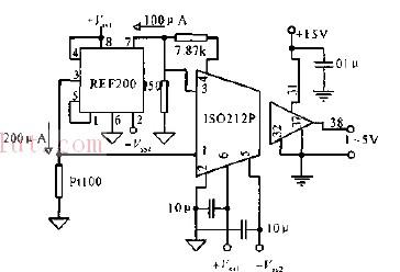 新型简易隔离放大测温电路