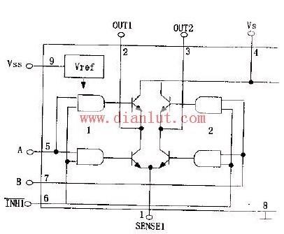 【图】用l297和298组成步进电机驱动电路其它电路图