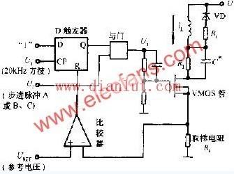 恒频脉宽调制式的驱动电路图