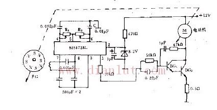 采用EA802的控制电路原理图