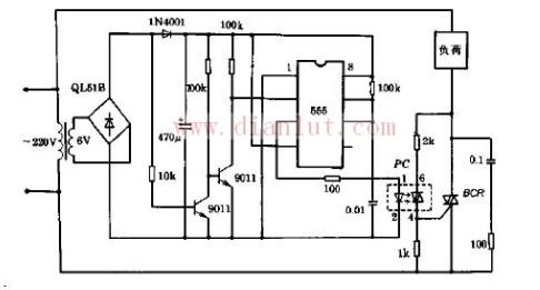 【图】零交触发器开关电路原理图其它电路图