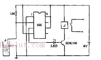 料位控制器电路原理图