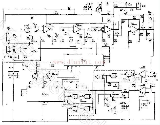 数字式电平自动控制电路设计