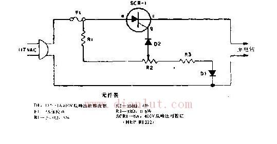 基于电钻的转矩控制电路图片