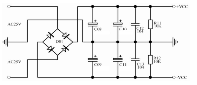 介绍基于lm1875设计的功放电路 含电源电路图片