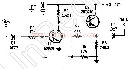 vfo缓冲放大器电路图