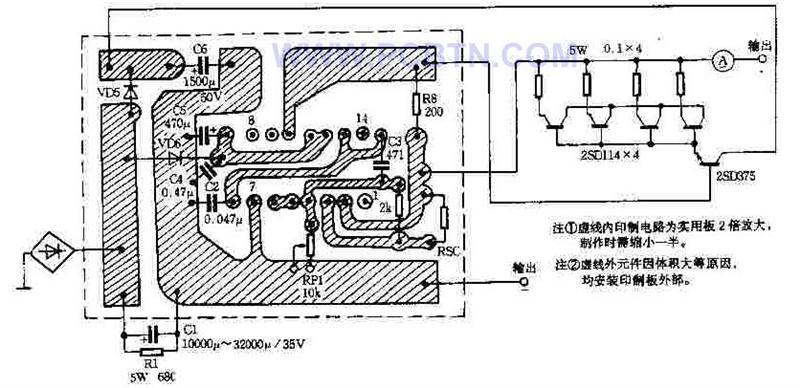 【图】0~12v可调直流稳压电源电源电路
