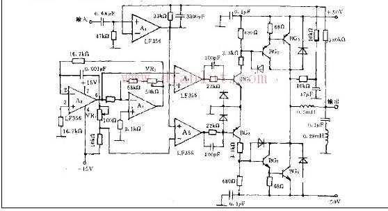 【图】简易pwm方式的功率放大电路音频电路 电路图 捷
