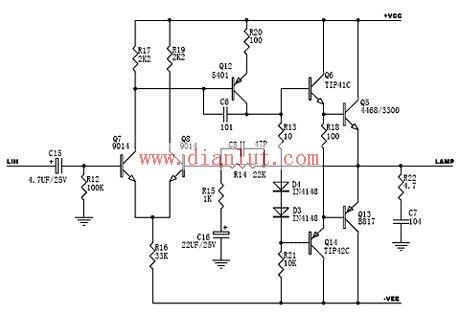浅谈ocl分立元件功放及其电路分析