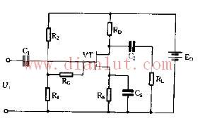 关于接正电位的偏置问题电路