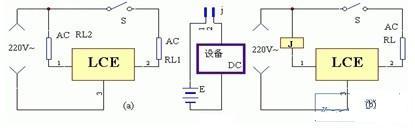 负载控制模块的典型应用电路原理图