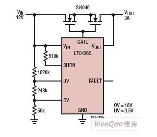 【图】ltc4365的应用电路图原理其它电路图